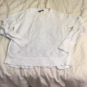 Lt blue BR sweater